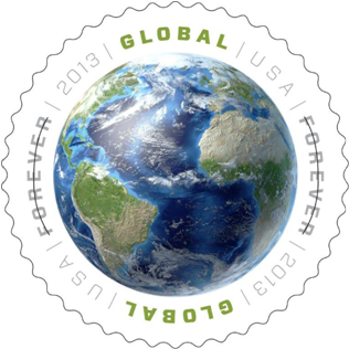 Forever Stamps: Earth