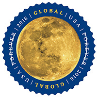 Forever Stamps: Moon