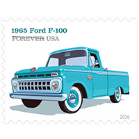 Forever Stamps: Truck